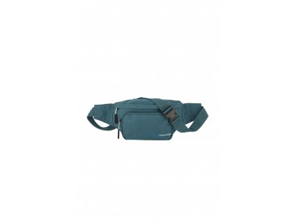 187082 travelite kick off waist bag petrol