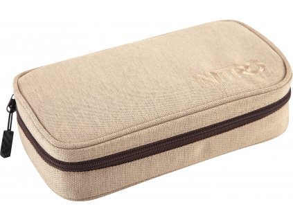 188294 nitro penal pencil case xl almond
