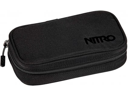 188627 nitro penal pencil case xl true black