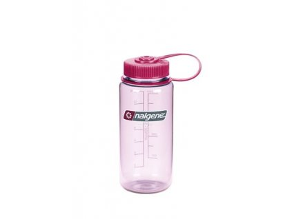 188048 nalgene wide mouth 500 ml clear pink