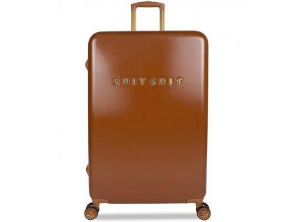 188930 cestovni kufr suitsuit tr 7106 3 l fab seventies leather brown