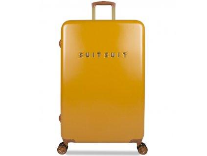188933 cestovni kufr suitsuit tr 7107 3 l fab seventies lemon curry