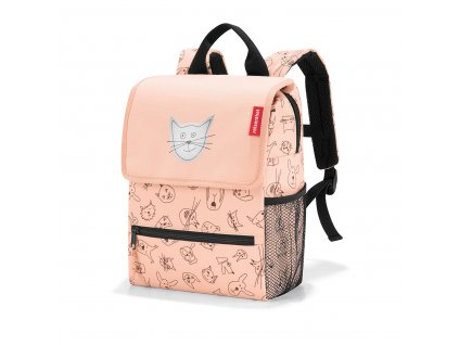173678 reisenthel backpack kids cats and dogs rose