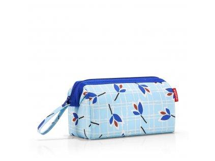 190214 4 reisenthel travelcosmetic leaves blue