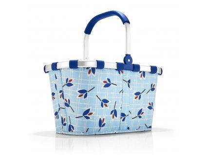 190364 5 reisenthel carrybag leaves blue