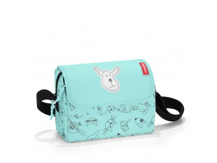 190406 2 reisenthel everydaybag kids cats and dogs mint