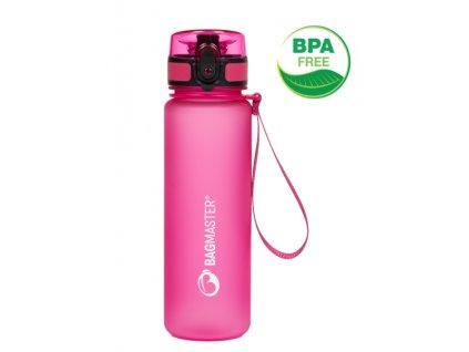 190490 5 bagmaster atestovana lahev na piti bottle 20 a pink