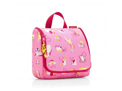 190910 reisenthel toiletbag kids abc friends pink