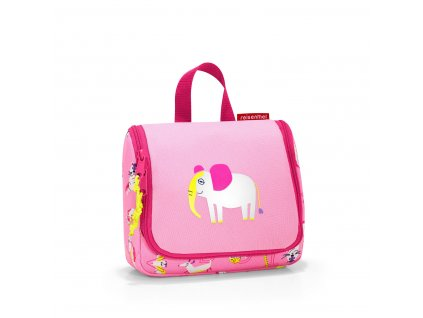 192308 reisenthel toiletbag kids s abc friends pink