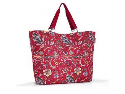 193757 3 reisenthel shopper xl paisley ruby