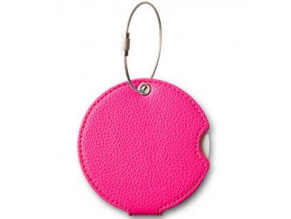 203291 jmenovka na kufr addatag pu bubbelgum pink