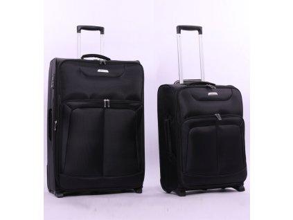 204923 sada cestovnich kufru aerolite t 9985 2 cerna