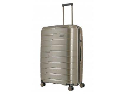 205205 travelite air base l champagne metallic