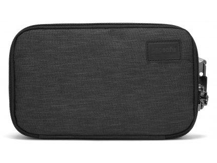 205445 pacsafe pouzdro rfidsafe travel case carbon