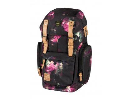 130266 nitro batoh daypacker black rose