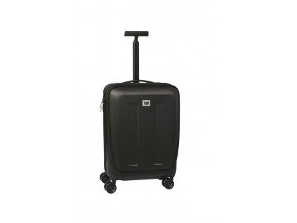 206711 cat business kufr access 38 l cerny material abs kabinove zavazadlo