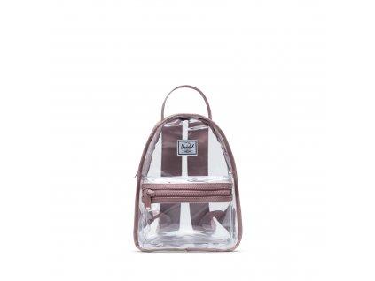 219353 1 herschel nova backpack mini pvc ashrose cl 9 l