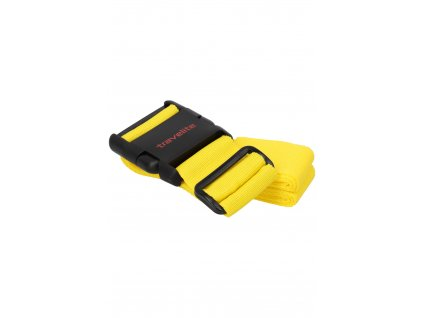 Travelite Luggage Strap Yellow - ochranný popruh