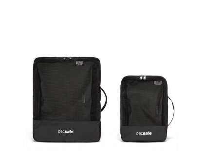 PACSAFE organizér TRAVEL PACKING CUBES black