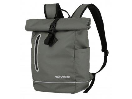 travelite Basics Roll Up Backpack Plane Anthrazit 207288 1