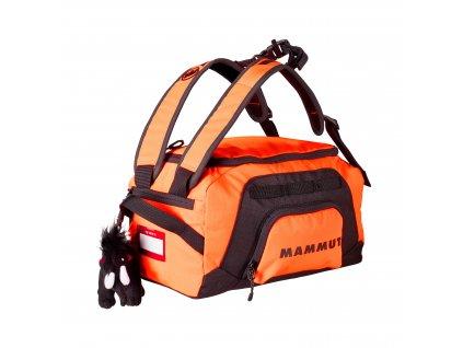 Mammut First Cargo safety orange-black 12