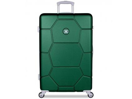 Cestovní kufr SUITSUIT® TR-1262/3-L ABS Caretta Jungle Green  + Pouzdro zdarma