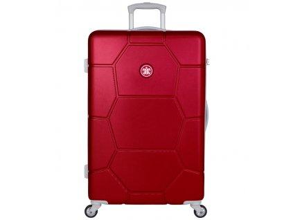 Cestovní kufr SUITSUIT® TR-1263/3-L ABS Caretta Cherry  + Pouzdro zdarma