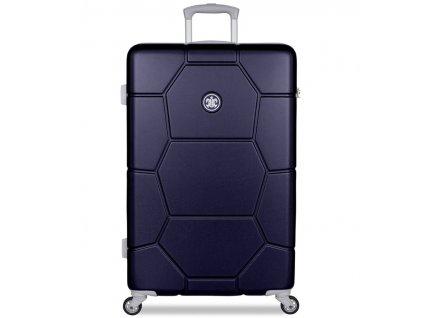 Cestovní kufr SUITSUIT® TR-1264/3-L ABS Caretta Midnight Blue  + Pouzdro zdarma