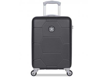 Kabinové zavazadlo SUITSUIT® TR-1261/3-S ABS Caretta Jet Black  + Pouzdro zdarma