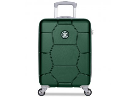 Kabinové zavazadlo SUITSUIT® TR-1262/3-S ABS Caretta Jungle Green  + Pouzdro zdarma