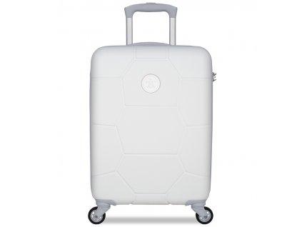 Kabinové zavazadlo SUITSUIT® TR-1265/3-S ABS Caretta Whisper White  + Pouzdro zdarma