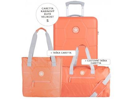 Cestovní set SUITSUIT® Caretta Melon S  + Pouzdro zdarma