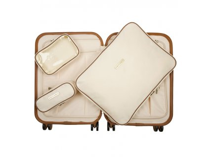 Sada obalů SUITSUIT® Perfect Packing system vel. S AS-71210 Antique White
