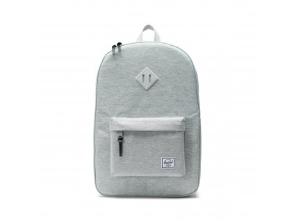 Herschel Heritage Light Grey Crosshatch 21,5L  + Pouzdro zdarma