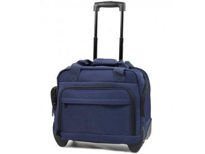 Kufr příruční na notebook MEMBER'S CM-0034 - modrá  + Pouzdro zdarma