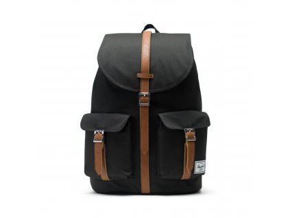 Herschel Dawson Black/Tan Synthetic Leather 20,5 l  + Pouzdro zdarma
