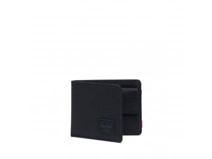 Herschel Roy Coin RFID Black/Black