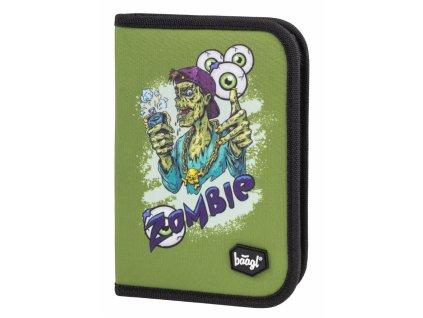 BAAGL Školní penál klasik dvě chlopně Zombie