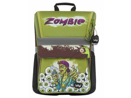 BAAGL Školní aktovka Zippy Zombie  + Pouzdro zdarma