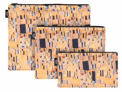 Baagl Set 3 taštiček Klimt