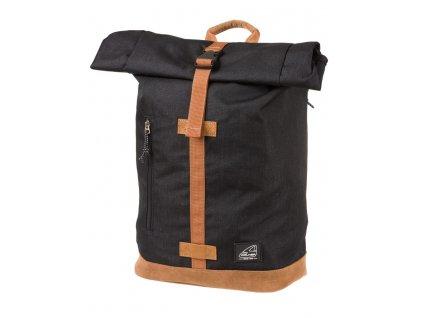 Volnočasový batoh ROLL-UP ECO Black  + Pouzdro zdarma
