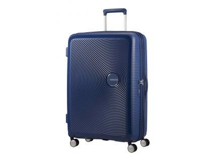 American Tourister SOUNDBOX L 77/28 TSA EXP - MIDNIGHT NAVY  + Pouzdro zdarma