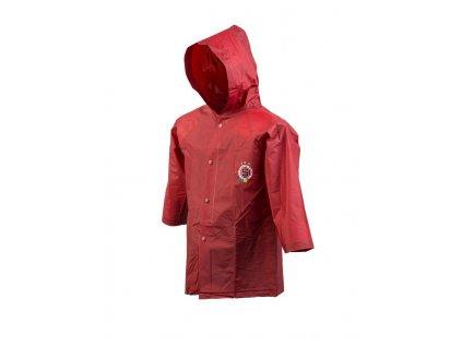 Baagl SPARTA - Dětská pláštěnka rudá v. 140