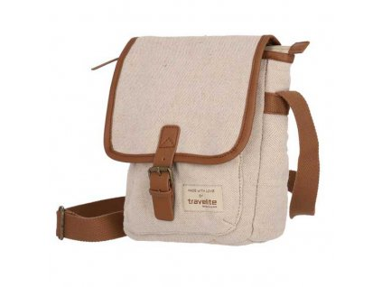 Travelite Hempline Crossover Bag A5 Beige