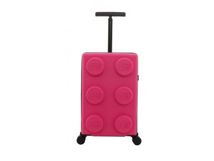 """LEGO Luggage Signature S 20"""" - Světle fialový  + Pouzdro zdarma"""