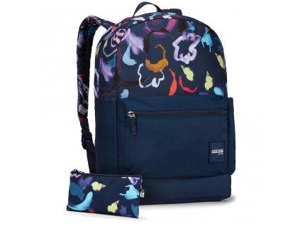 Case Logic Commence batoh 24L CCAM1116 - Sketch Floral Dress Blue