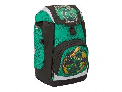 LEGO Ninjago Green Nielsen - školní batoh 15l  + Pouzdro zdarma