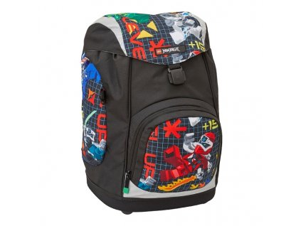 LEGO Ninjago Prime Empire Nielsen - školní batoh  + Pouzdro zdarma