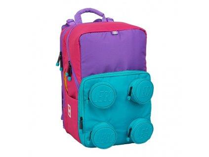 LEGO Pink/Purple Petersen - školní batoh 23l  + Pouzdro zdarma