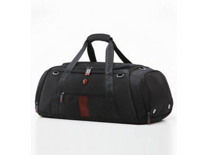 Cestovní taška KRIMCODE Sport Attire 01 - černá  + Pouzdro zdarma